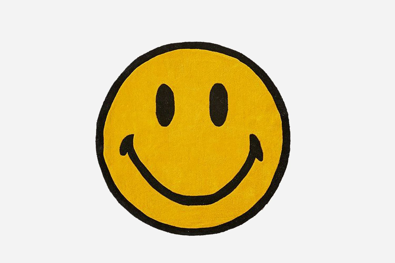 Smiley Plush Rug