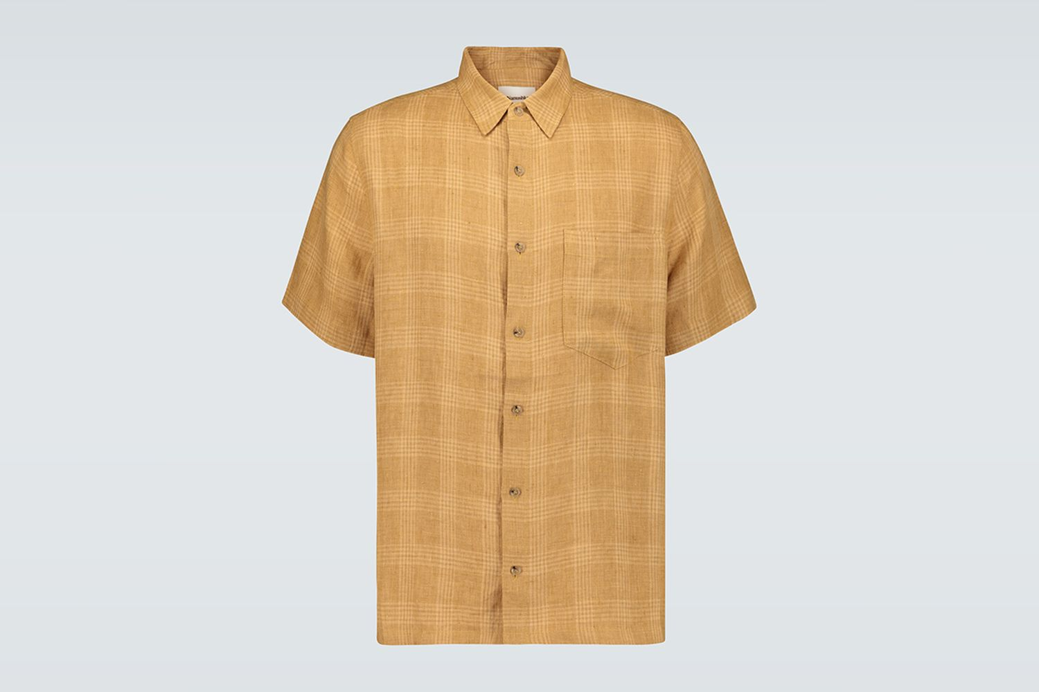 Adam Checked Linen Shirt