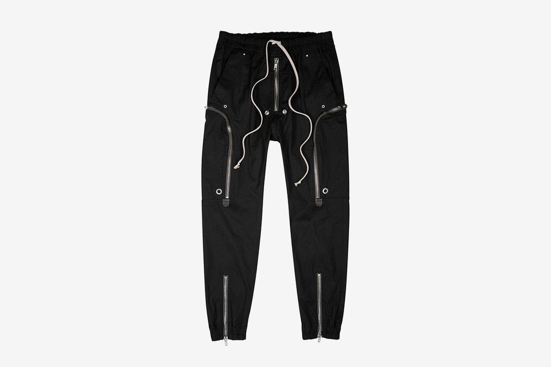 Bauhaus Stretch-Cotton Cargo Trousers