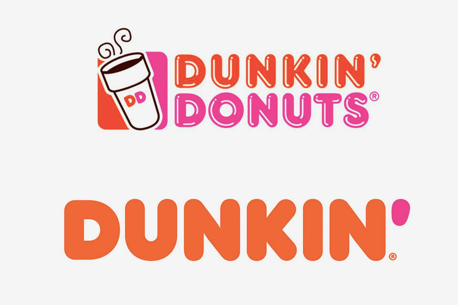 dunkin donuts rebrand Dunkin' Donuts fast food