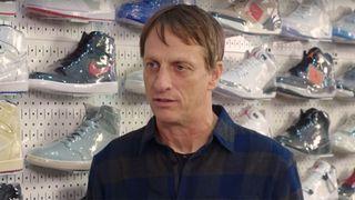 tony hawk sneaker shopping