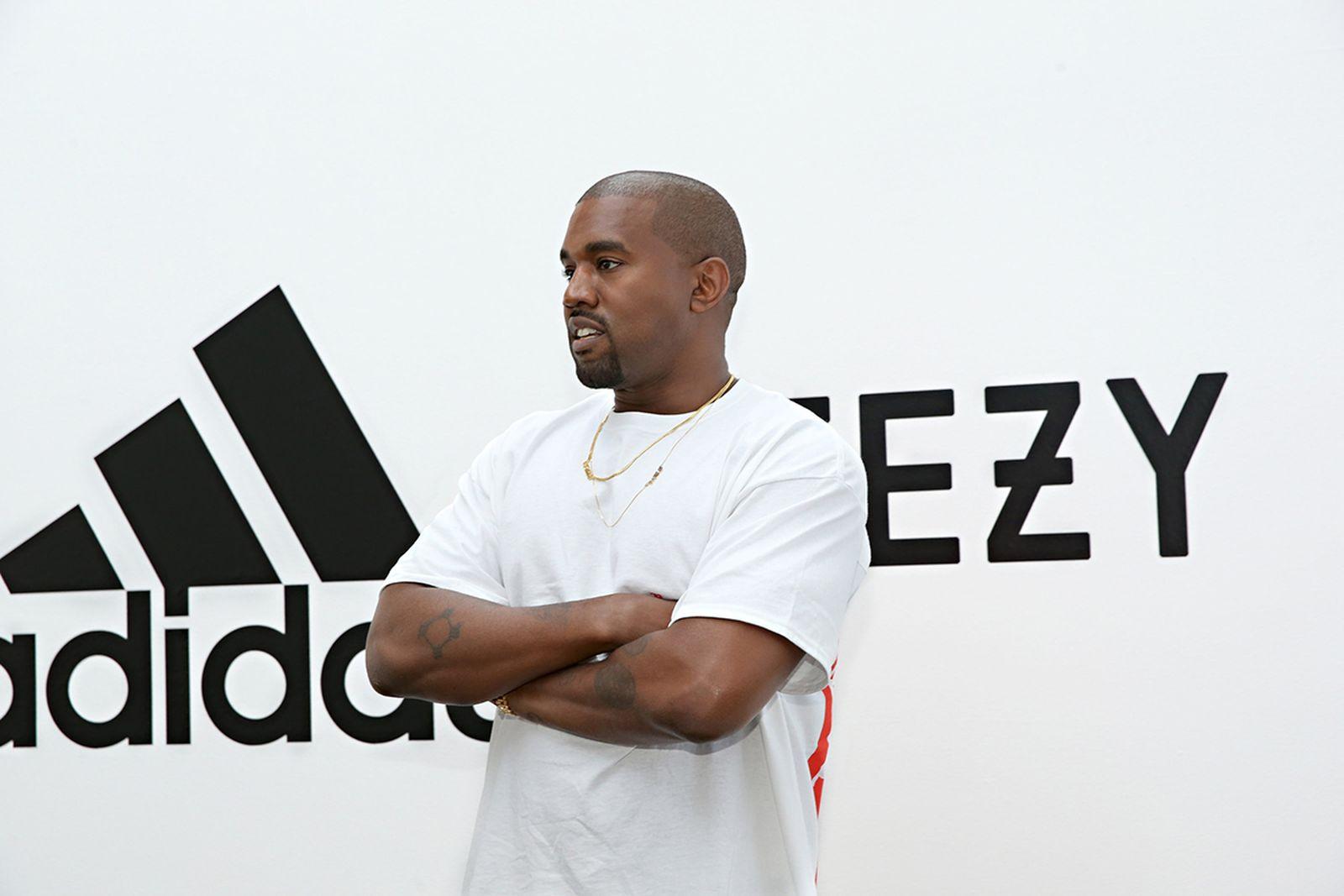 Kanye West adidas YEEZY logo
