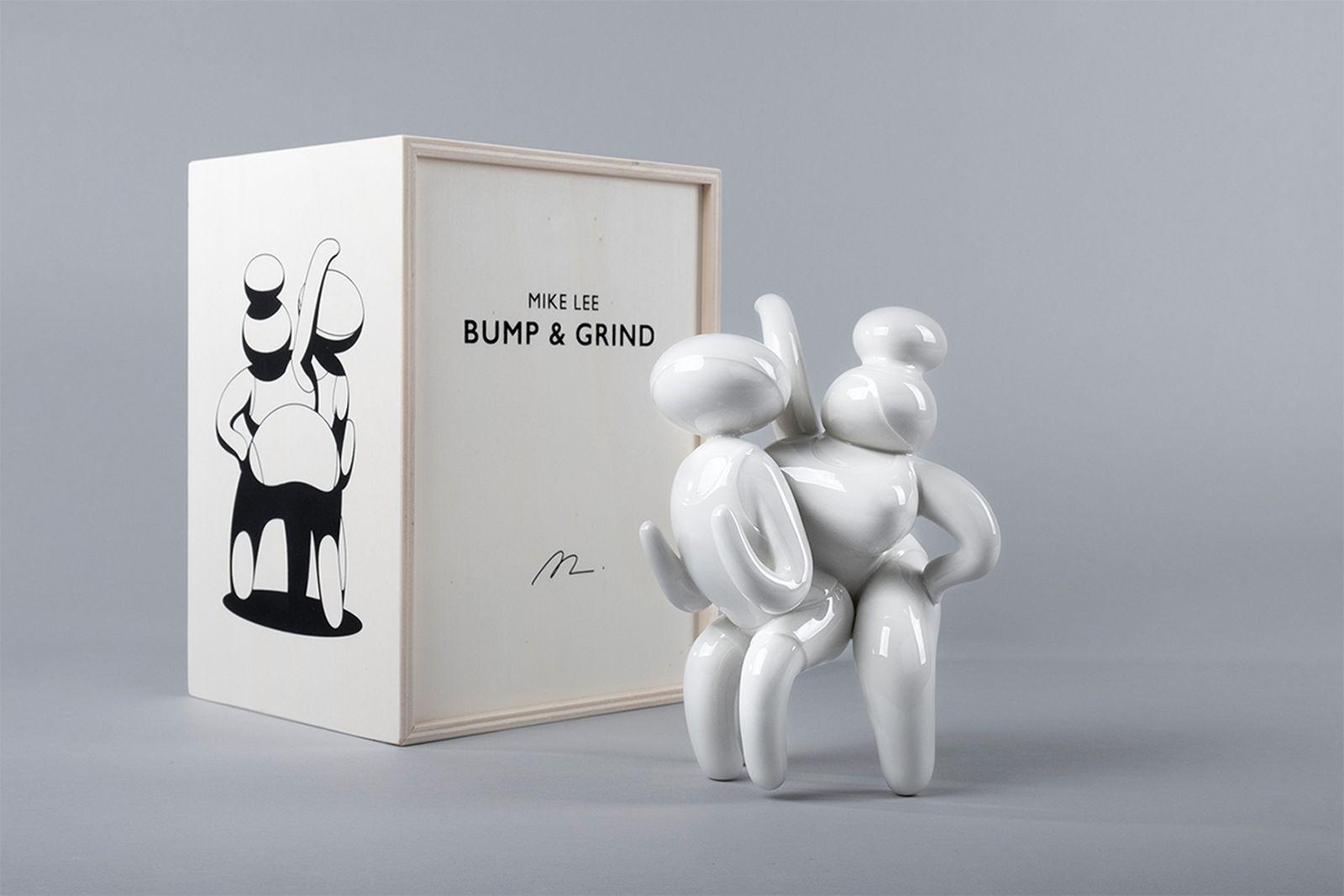 mike lee case studyo bump grind sculpture