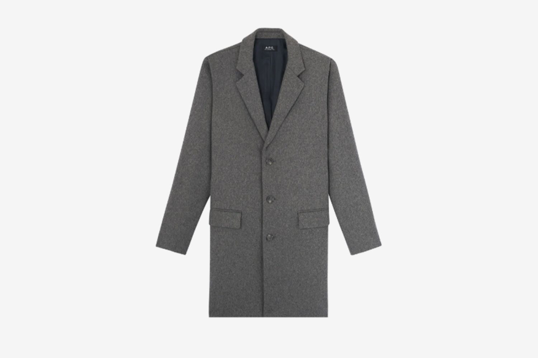 Manteau Visconti Coat 'Gris'