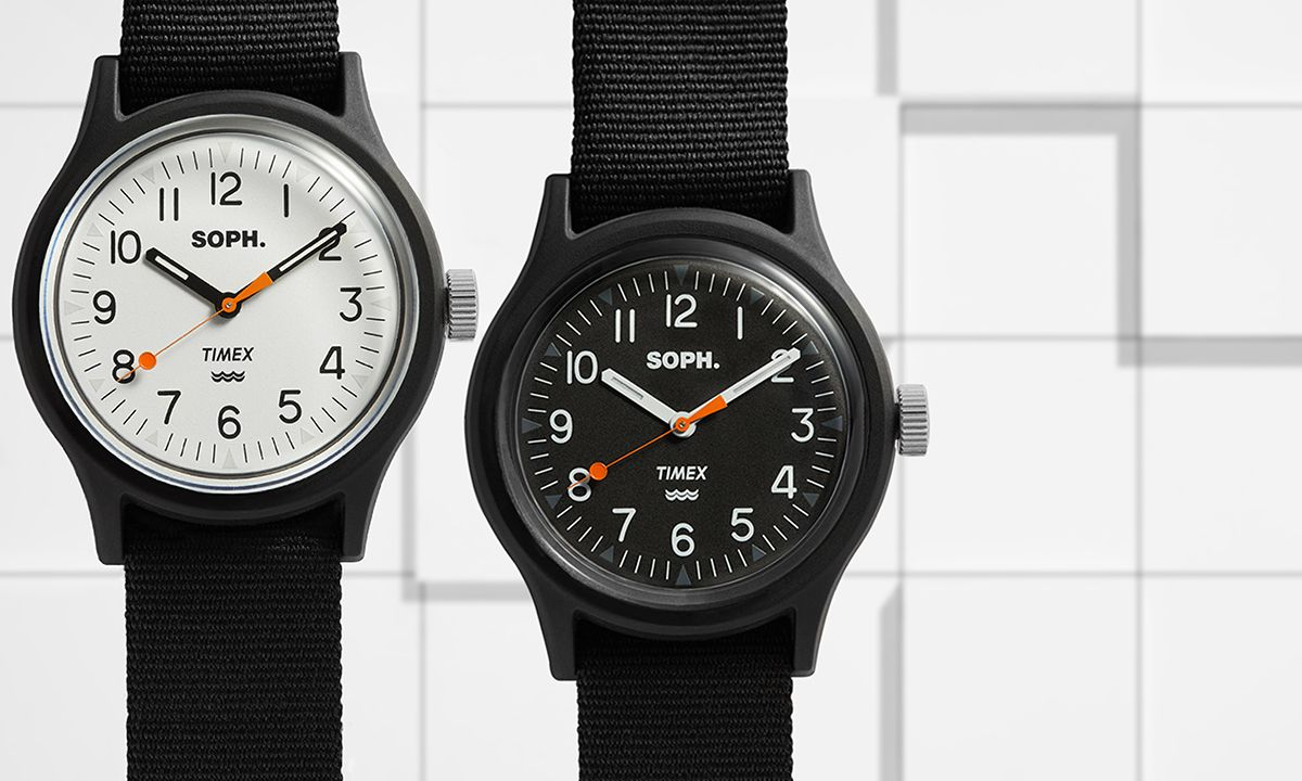 SOPHNET. & END.'s Timex MK1 Is the Perfect Everyday Watch