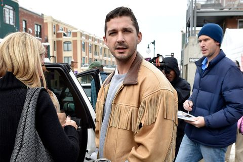 "Shia LaBeouf Is Hosting a Birthday Fundraiser With a ""Better Lineup Than Coachella"""