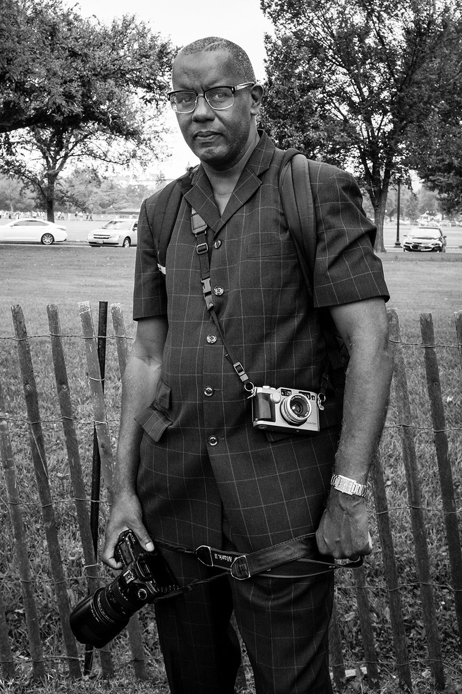 Jamel Shabazz Lee Jeans NYC Street Style