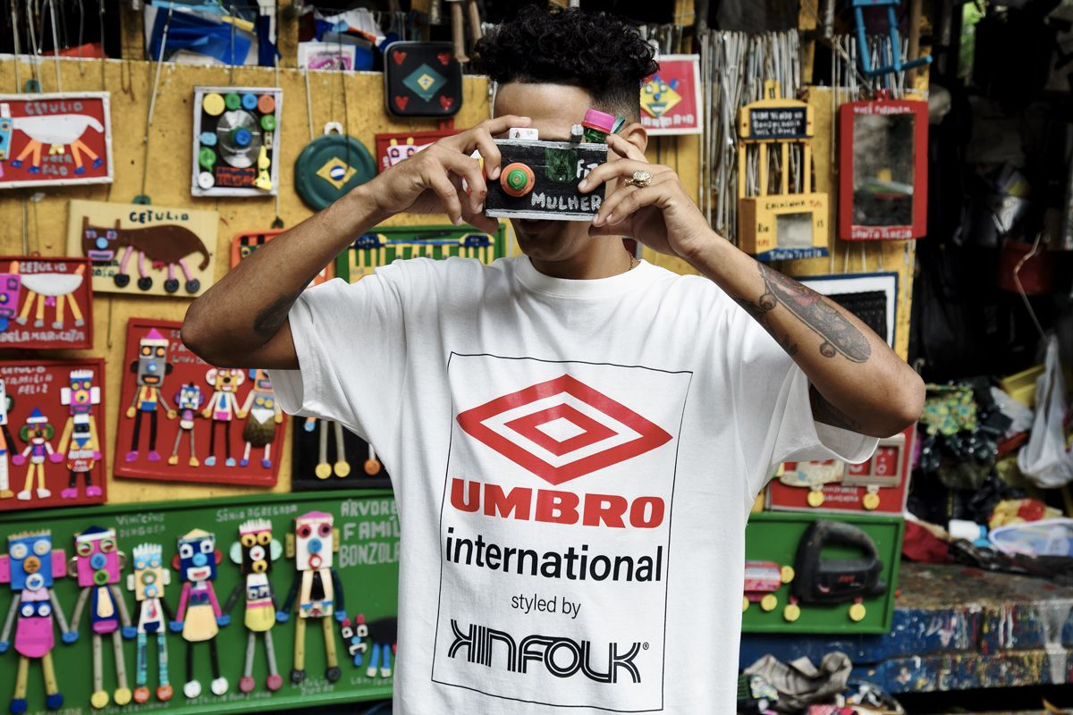 Kinfolk & Umbro Celebrate Brazilian Youth in Latest Collab