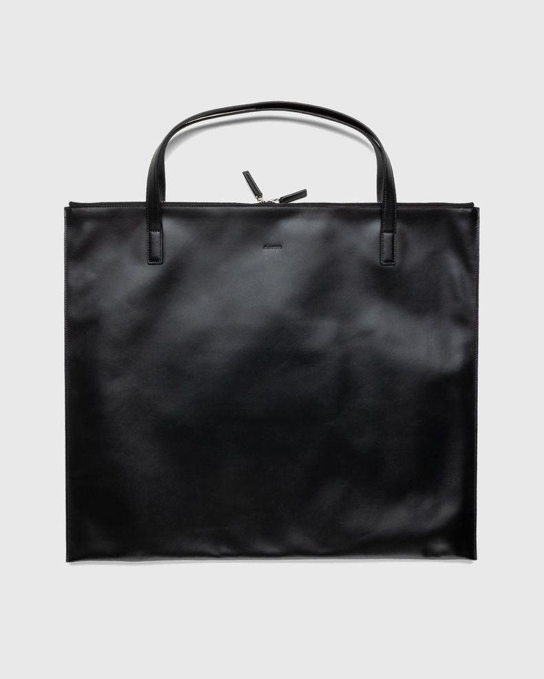 Jil Sander – Zip Tote Medium Black