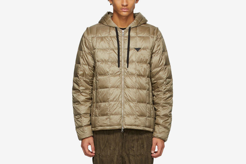 Down Heated Hoodie EXTRA Jacket