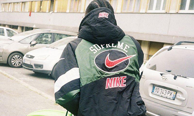 supreme x nike hoodie