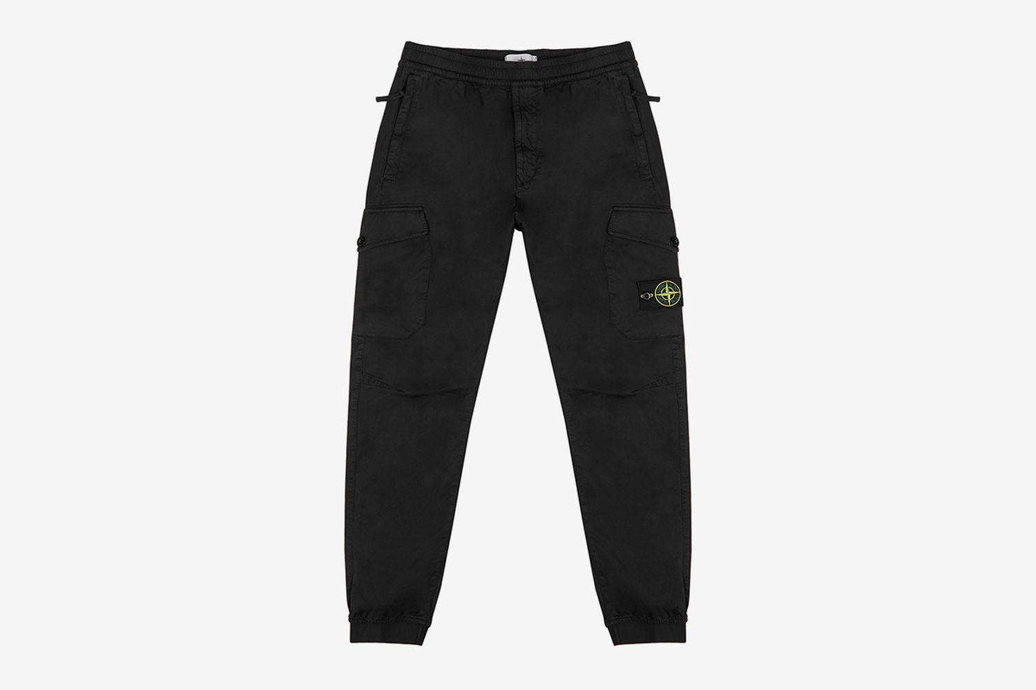 Cotton-Blend Cargo Trousers