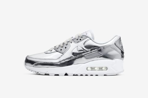 "Air Max 90 ""Metallic Chrome"""