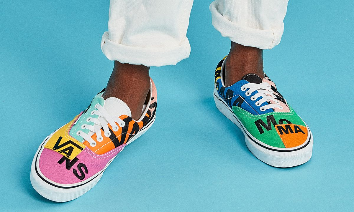 MoMA & Vans Team Up on a Colorful Patchwork Era