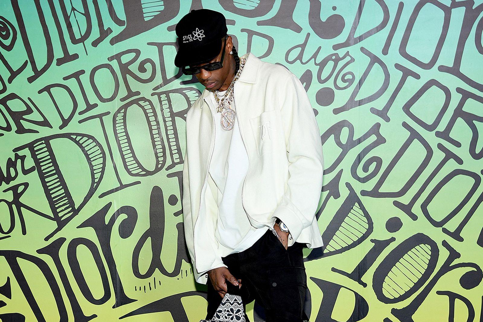 Travis Scott Dior show