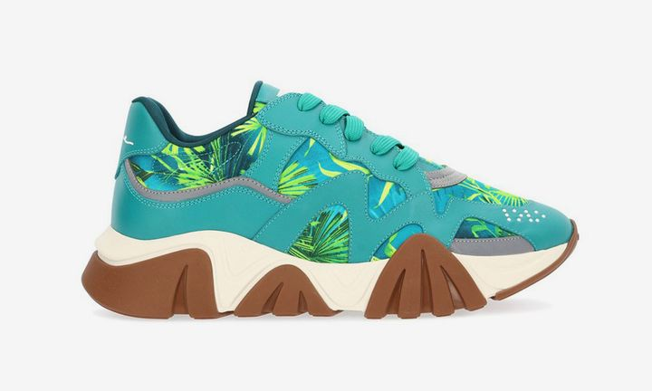 Versace Squalo Jungle Print Sneaker