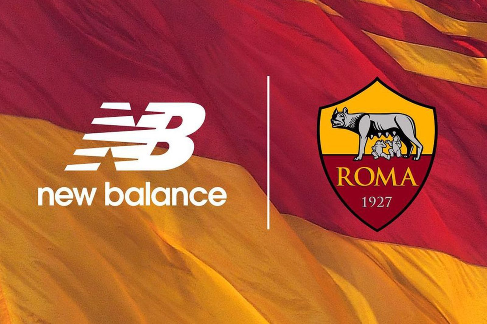 AS Roma & New Balance Team Up for Jersey Partnership in 2021