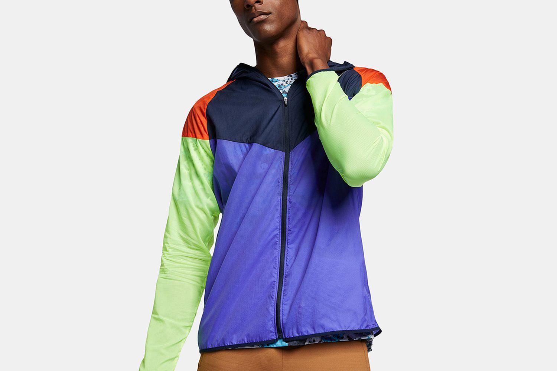 Colorblocked Water-Repellent Windrunner Jacket