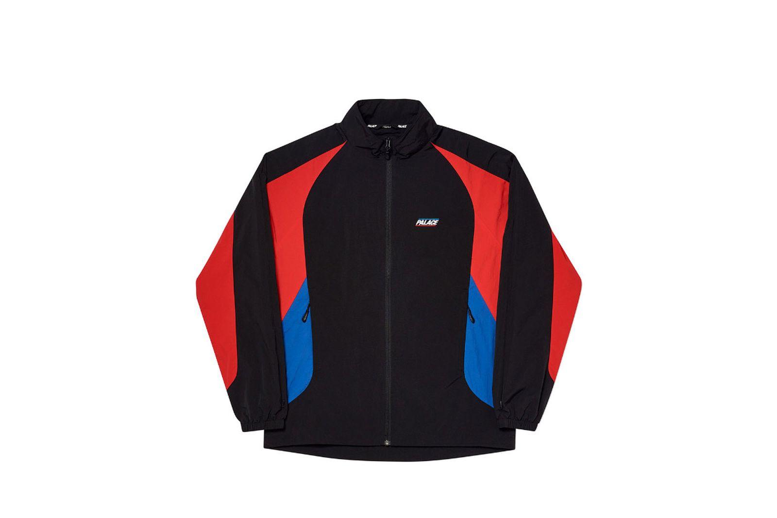 Palace 2019 Autumn Jacket revealer shell black sleeve option