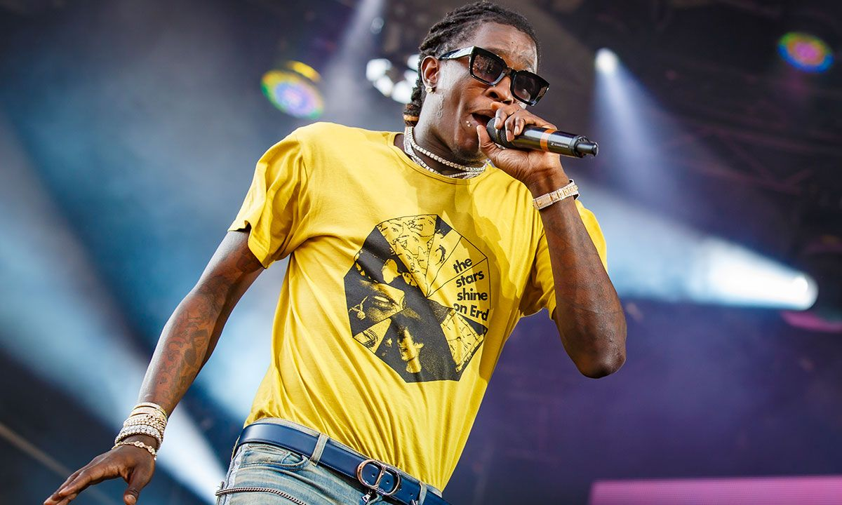 Young Thug Slapped With $145,000 Fine for Failing to Pay His Taxes