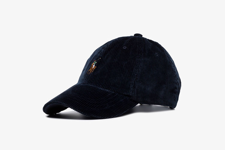 Logo Corduroy Baseball Cap