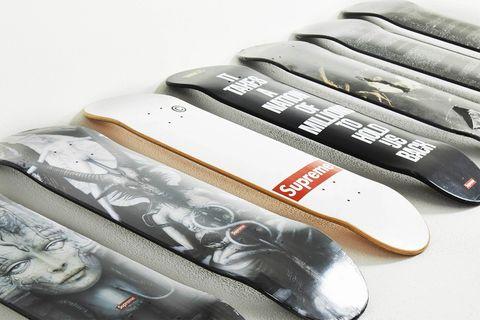 grailed supreme skate decks heatwave