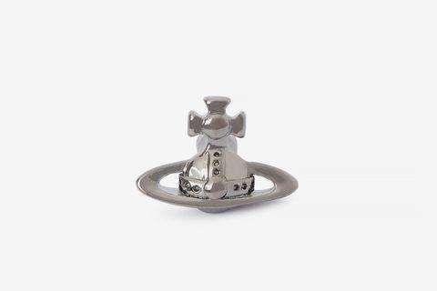 Lorelei Gunmetal Stud Earring