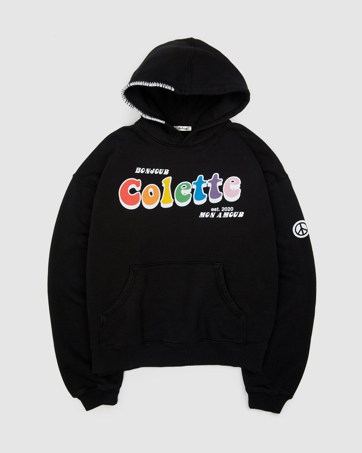Madhappy x colette Mon Amour - Hoodie Black - Image 1