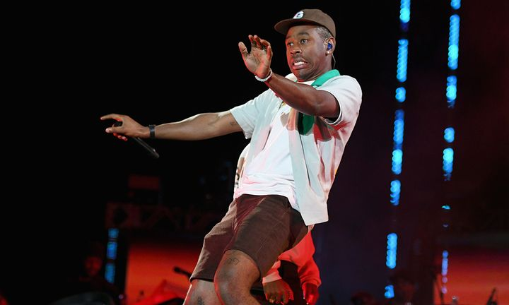 Tyler the Creator performing