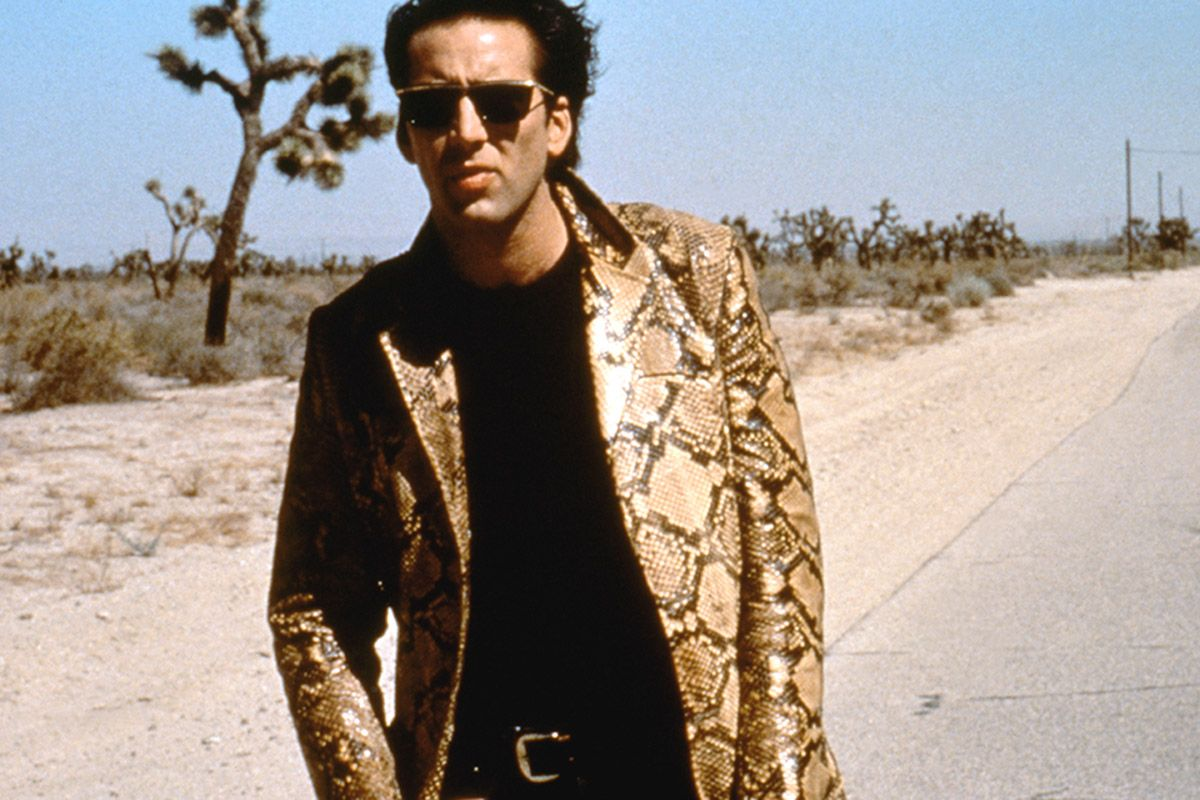 All Hail Nic Cage, Our Inspirational Leather Daddy