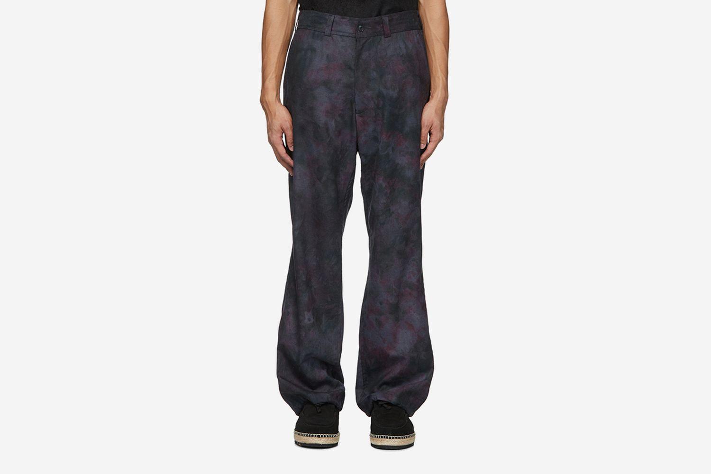 Uneven Dye Trousers