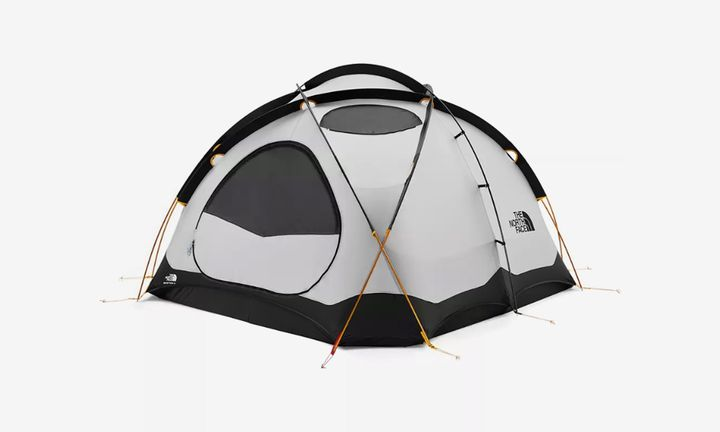 camping essentials buy online feat The North Face bape coleman