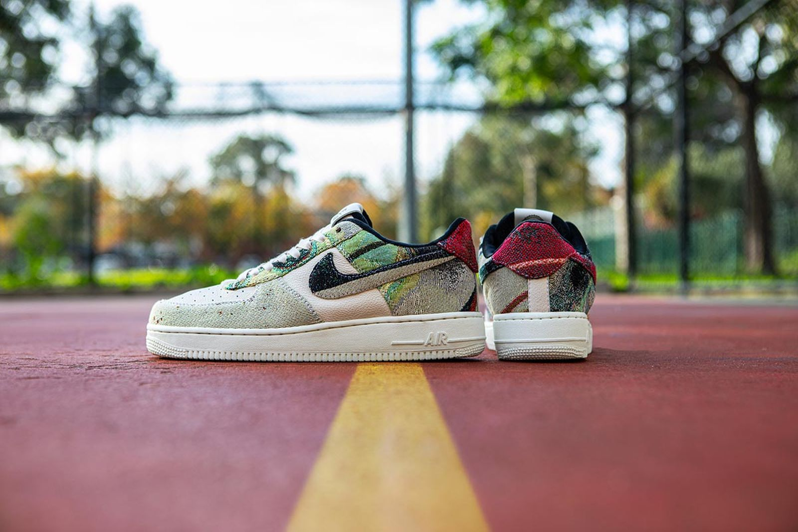 "Futura x Off-White™ Nike Air Force 1 ""Flows"""