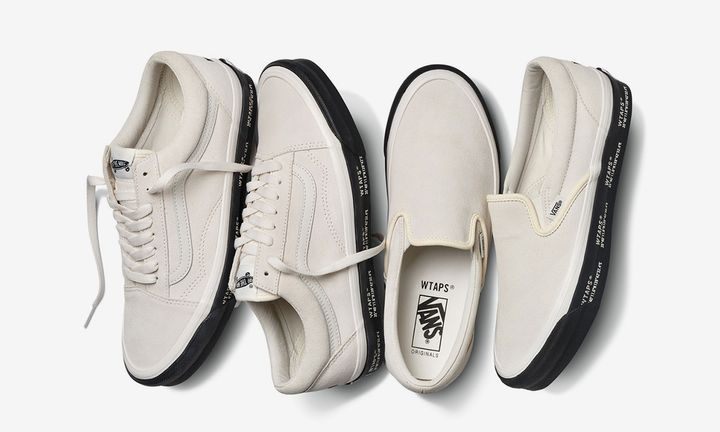 WTAPS x Vans Old Skool Slip-On
