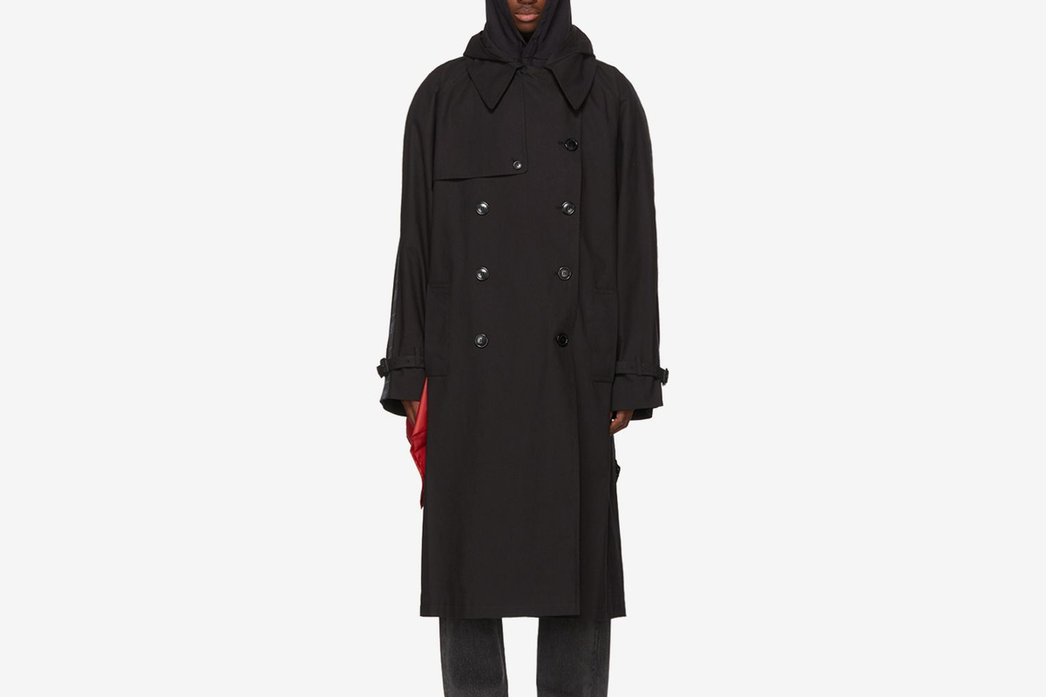 Plastic Bag Trench Coat