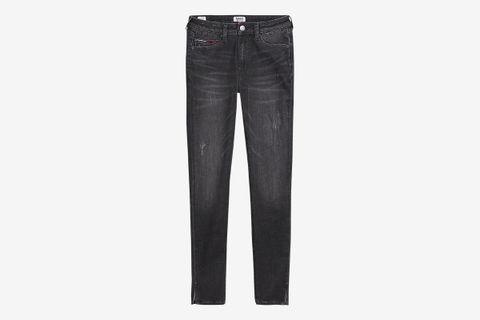 High Rise Super Skinny Fit Cropped Jean