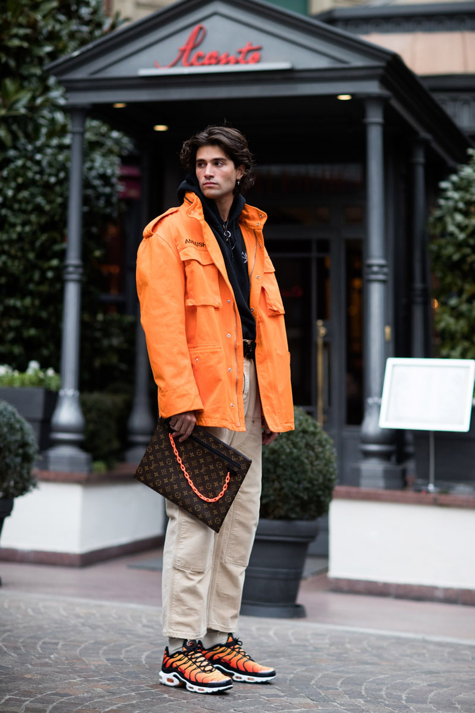 7milan fashion week street style 032c HBA x Colmar Supreme