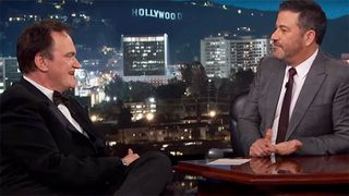 quentin tarantino kimmel Once Upon a Time in Hollywood Quentin Tarantion jimmy kimmel