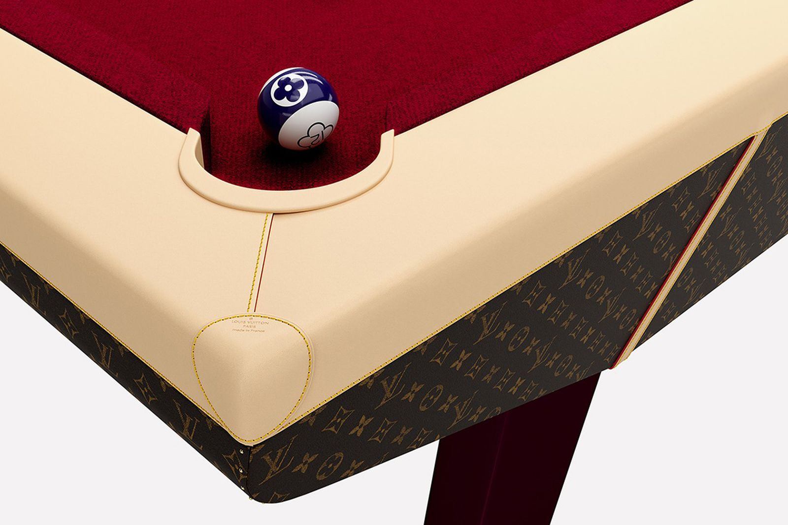 Louis Vuitton pool table