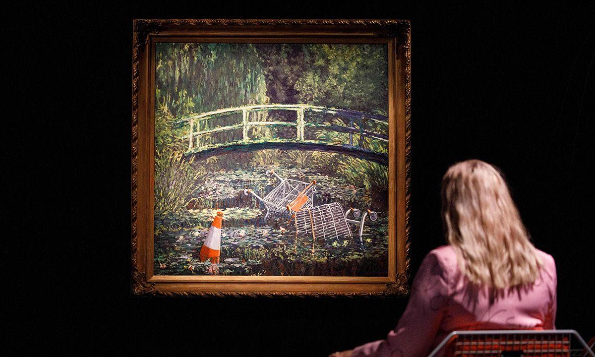 Banksy Trolled Monet & Now It's Worth $10 Million