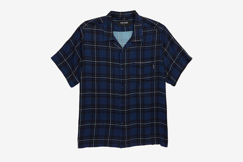 Velzy Plaid Camp Shirt