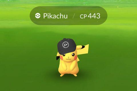 fragment design pikachu Pokemon GO