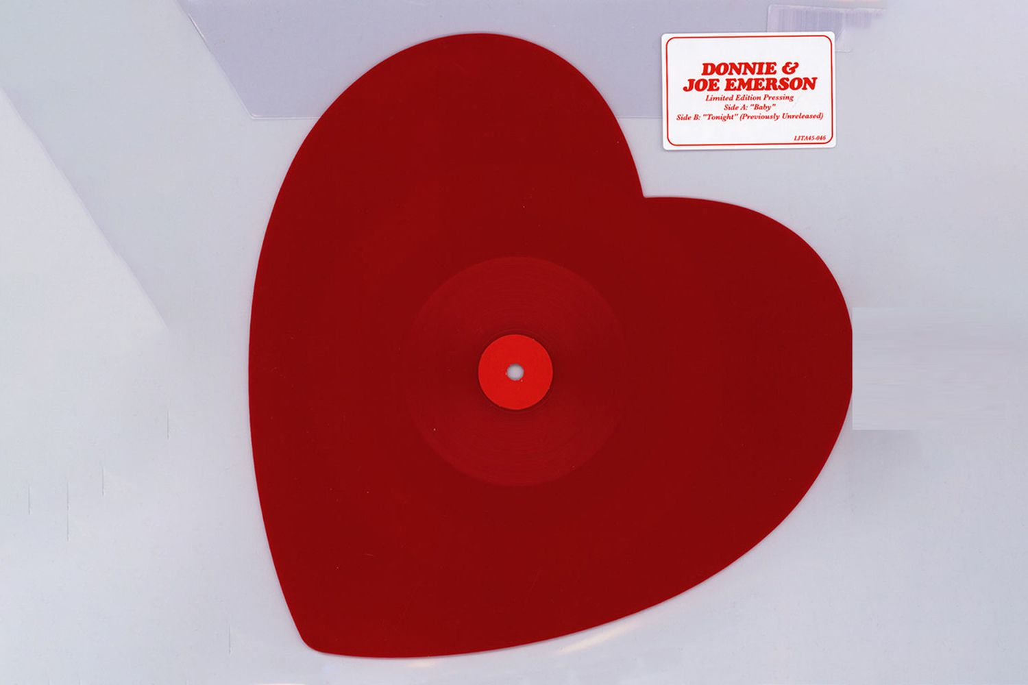 Baby Heart Shaped Vinyl Edition
