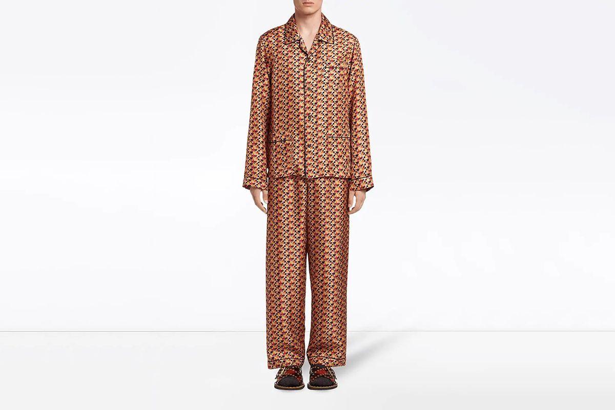 Silk Twill Pajama