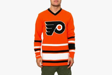 timeless design e1598 7b62b Mitchell & Ness Philadelphia Flyers Hockey Jersey