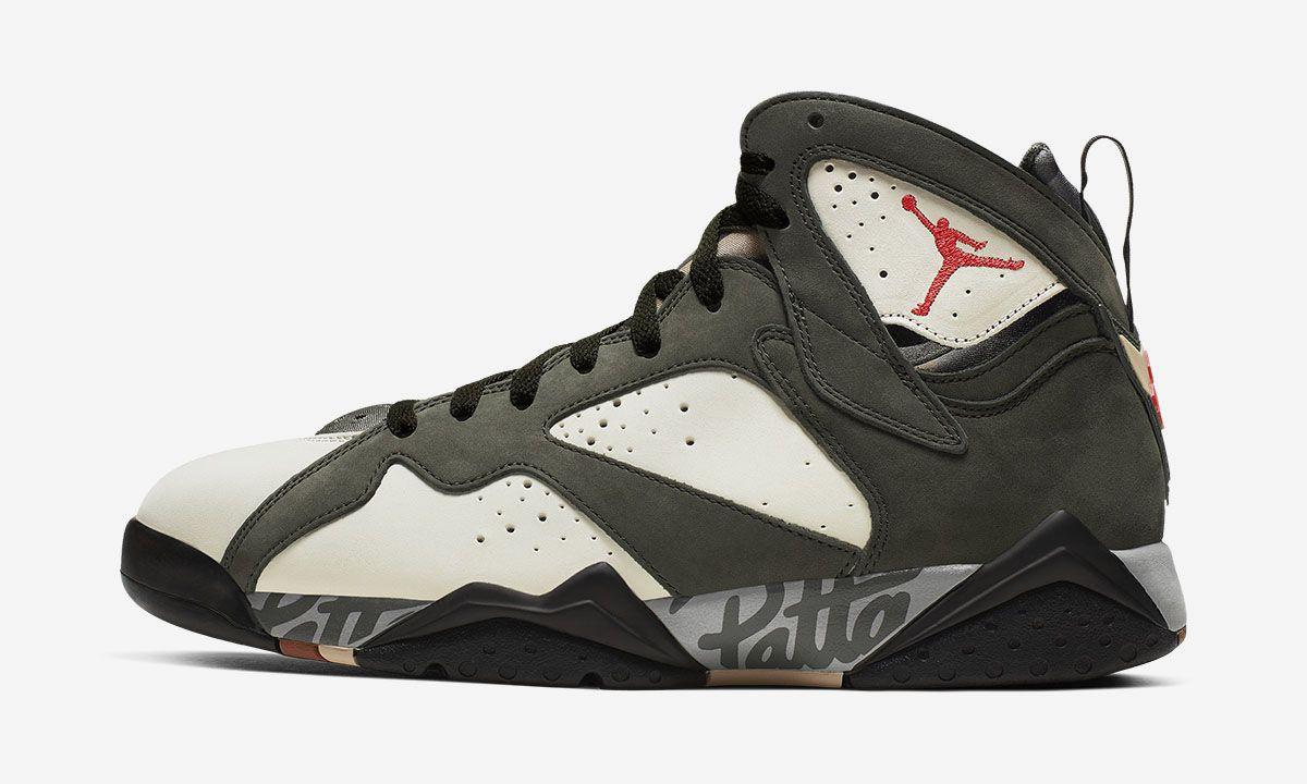 Patta x Nike Air Jordan 7