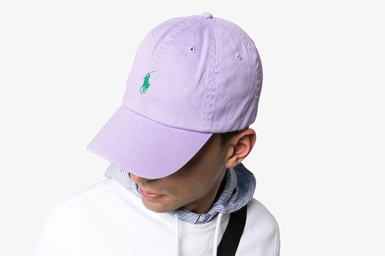 Logo-Embroidered Cotton-Canvas Cap