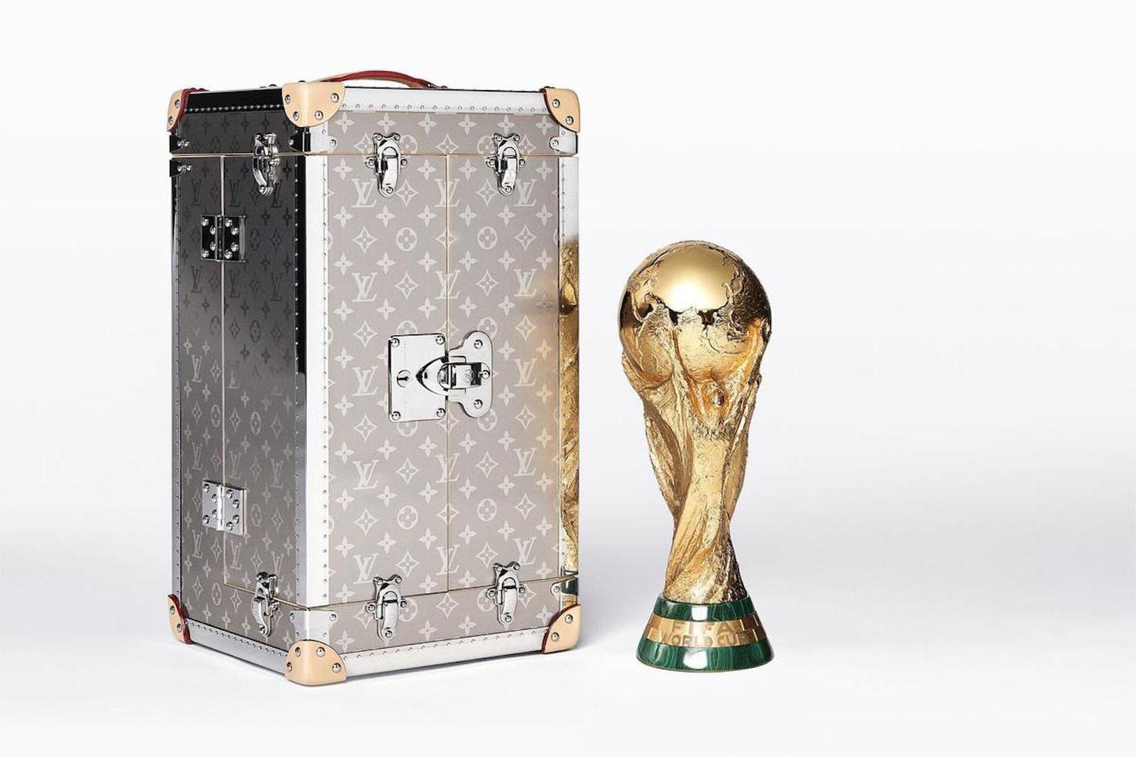 louis vuitton fifa world cup original trophy travel case 2018 FIFA World Cup
