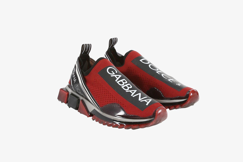 Dolce & Gabanna Sorrento Slip-on Logo Sneakers