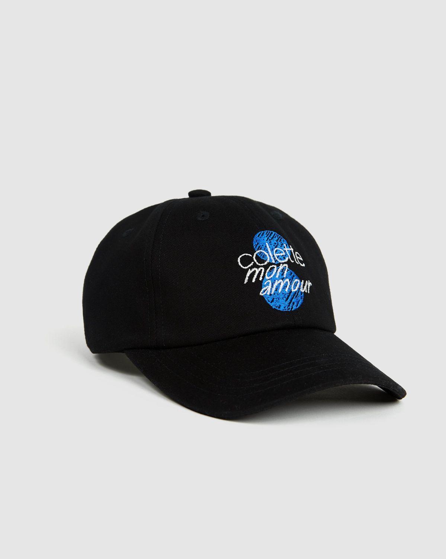 Colette Mon Amour - Dots Baseball Cap Black - Image 1